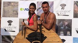 Lucie Smatanová s přítelem Gabrielem