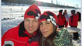 Vašek Benda s přítelkyní