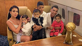 Ronaldo s rodinou