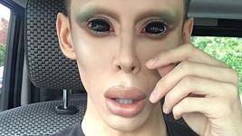 Vinny Ohl (23) chce být mimozemšťanem.