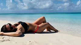 Katarína Knechtová se pyšní luxusní figurou.
