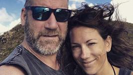 David Koller s dnes již manželkou Annou