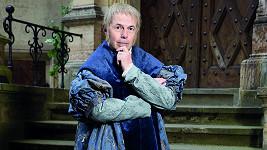 Marek Eben se představí jako rytíř Valerián.