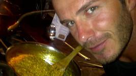 Rizoto Davida Beckhama vypadá zvláštně, ale chutnat mohlo výborně.