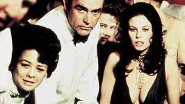 Se Seanem Connerym ve filmu Diamanty jsou věčné