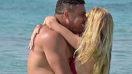 Ronaldo a jeho láska Celina na dovolené...
