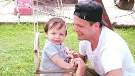 Tomáš Horna se synem