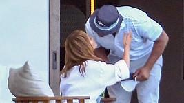 Jennifer Lopez a Alex Rodriguez se shledali v Dominikánské republice.