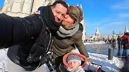 Michal s rodinou vyrazil do termálů.