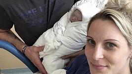 Katka Brzobohatá porodila syna
