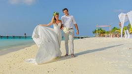Lucie Čižmárová se pochlubila svatebním albem z Malediv.