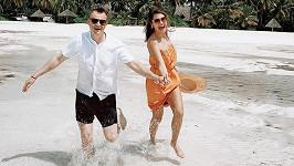 Andrea a Kazma na první společné dovolené po uvolnění opatření.