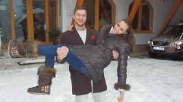 Elišku nosil na rukou Filip Trojovský.