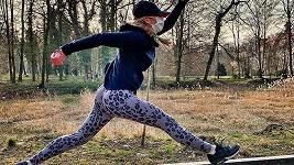 Lucie Borhyová a její trojitý skok