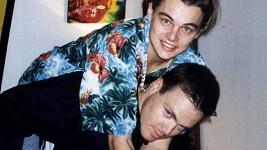 Leo s bratrem Adamem na archivním snímku.