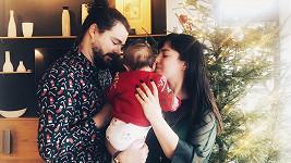 Ewa Farna s rodinou