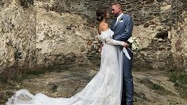 Libor s manželkou Gábinou