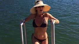 Amanda Holden je na dovolené v Portugalsku.