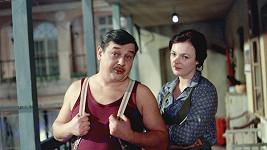 Josef Vinklář a Jana Hlaváčová v seriálu Byl jednou jeden dům