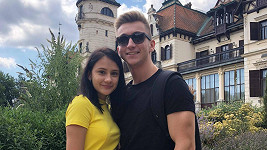 Eliška Rusková s partnerem Tobiášem
