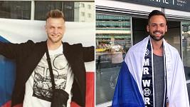 Daniel Koždoň a Jakub Kraus reprezentují české muže na světových soutěžích krásy.