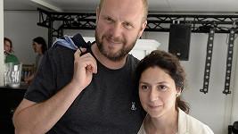 Martha Issová je už pět let s režisérem Davidem Ondříčkem.