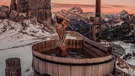 Natálie Kotková ukázala výstavní postavičku v plavkách i v Alpách.