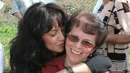 Lucie Bílá s maminkou