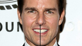 Tom Cruise a jeho pověstné zuby.