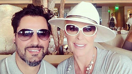 Brigitte Nielsen s manželem Mattiou Dessim