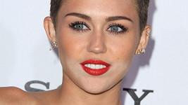 Barevná nesladěnost pleti Miley na dokonalosti líčení jistě dost ubrala.
