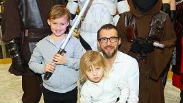 Bořek Slezáček se syny