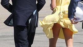 Vévodkyně Kate ukázala předposlední den v Kanadě své výstavní pozadí.