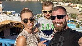 Hanka a André se synem