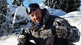 Petr Vágner si užíval sněhu, který ho nakonec málem stál draho.