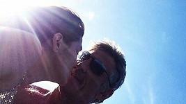 Petra Faltýnová se svým snoubencem Davidem