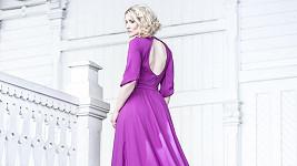 Lenka Špillarová jako modelka