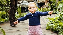Malý Louis byl z lesíku vyloženě nadšený.