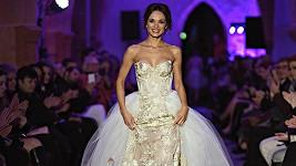 Gabriela Bártová ve svatebkách