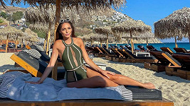 Týnuš Třešničková si užívala dovolenou na Mykonosu.
