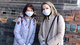Michaela Badinková a Ljuba Krbová podpořily pražskou porodnici U Apolináře.