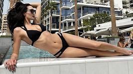 Kristýna Schicková odletěla do Dubaje.
