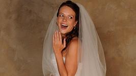 Andrea je krásná nevěsta.