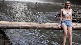 Štěpánka Fingerhutová vyrazila na Bali k vodopádům.