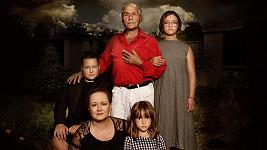 Jan Saudek s manželkou Pavlou a jejich dětmi Matějem, Annou Marií a Josefínou