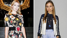 Lady Kitty Spencer (vlevo) a Lady Amelia Windsor