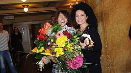 Lucie Bílá a její syn Filip čekají napjatě na zářijové vysvědčení.