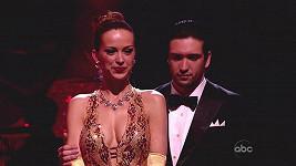 Petra Němcová krátce po vypadnutí ze soutěže Dancing with the Stars.