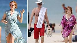 Sacha a Isla na dovolené v Austrálii