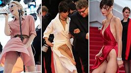 Kylie Minogue, Sophie Marceau aBella Hadid na festivalu v Cannes.